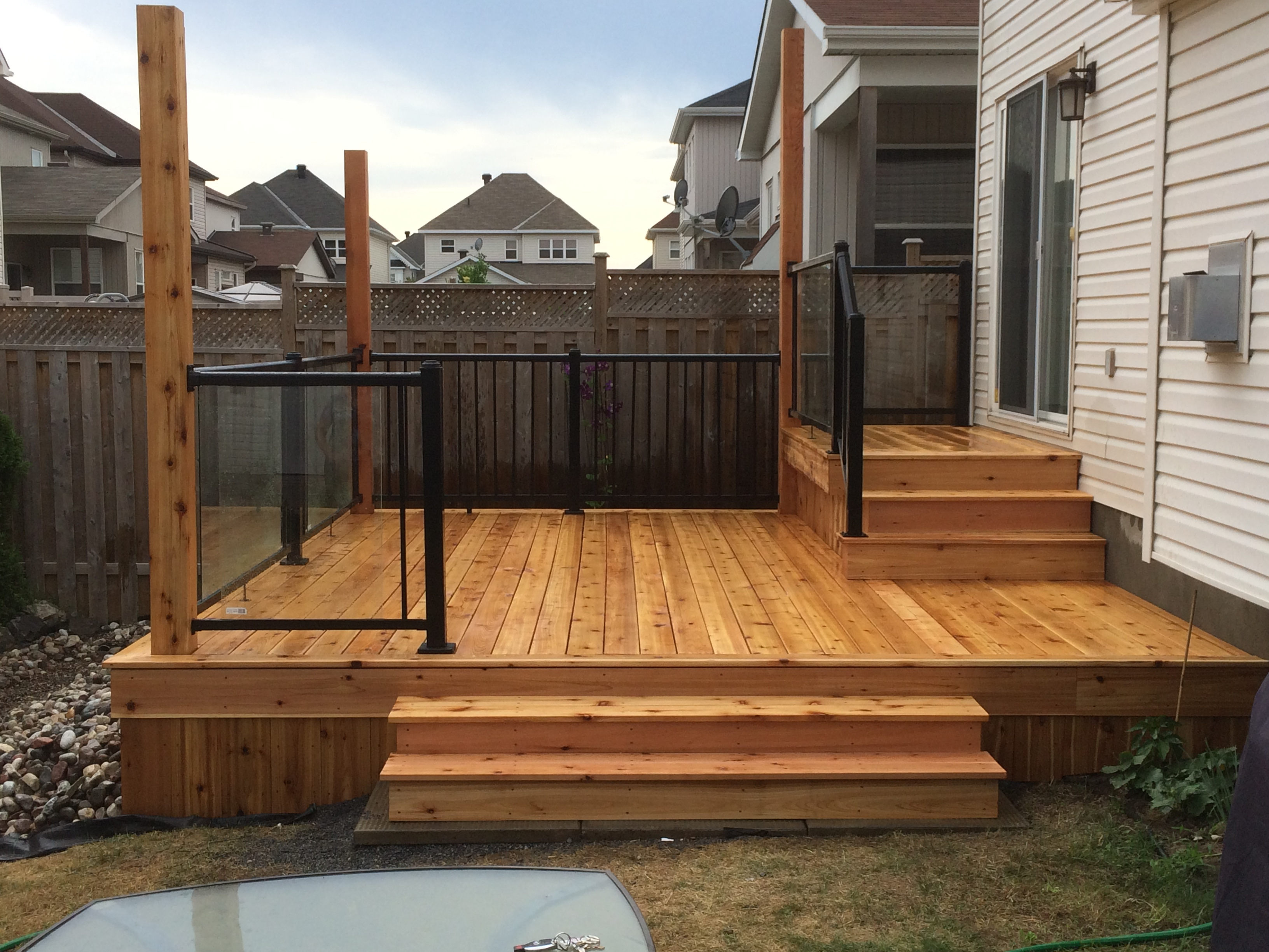 outdoor deck