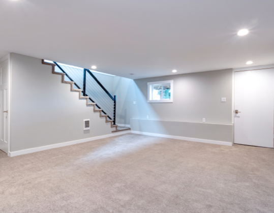 full basement renovation