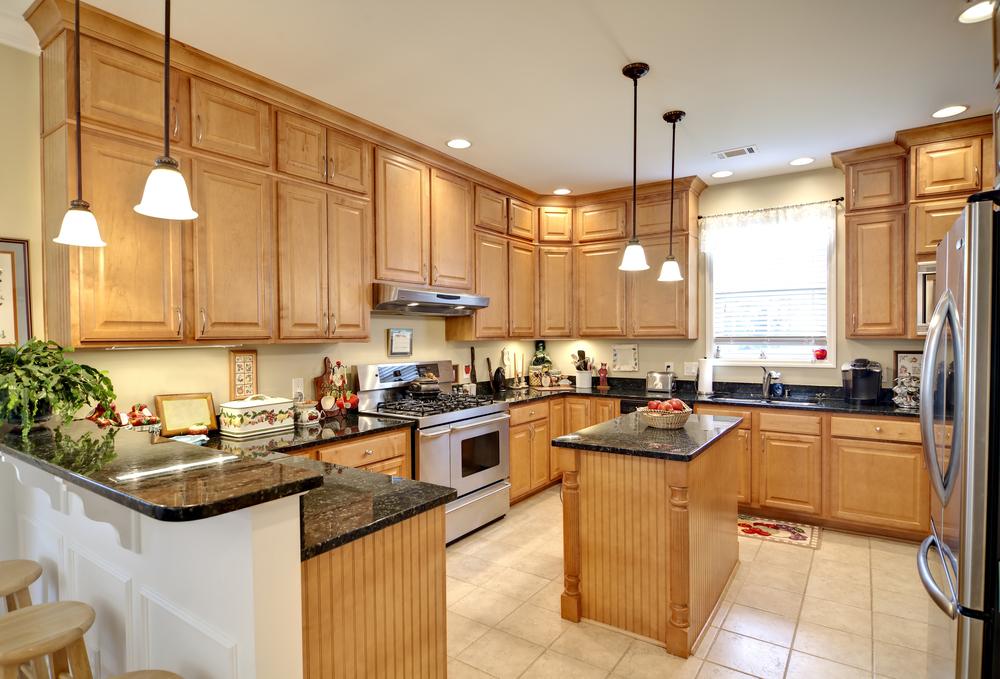 bright, fresh kitchen remodel