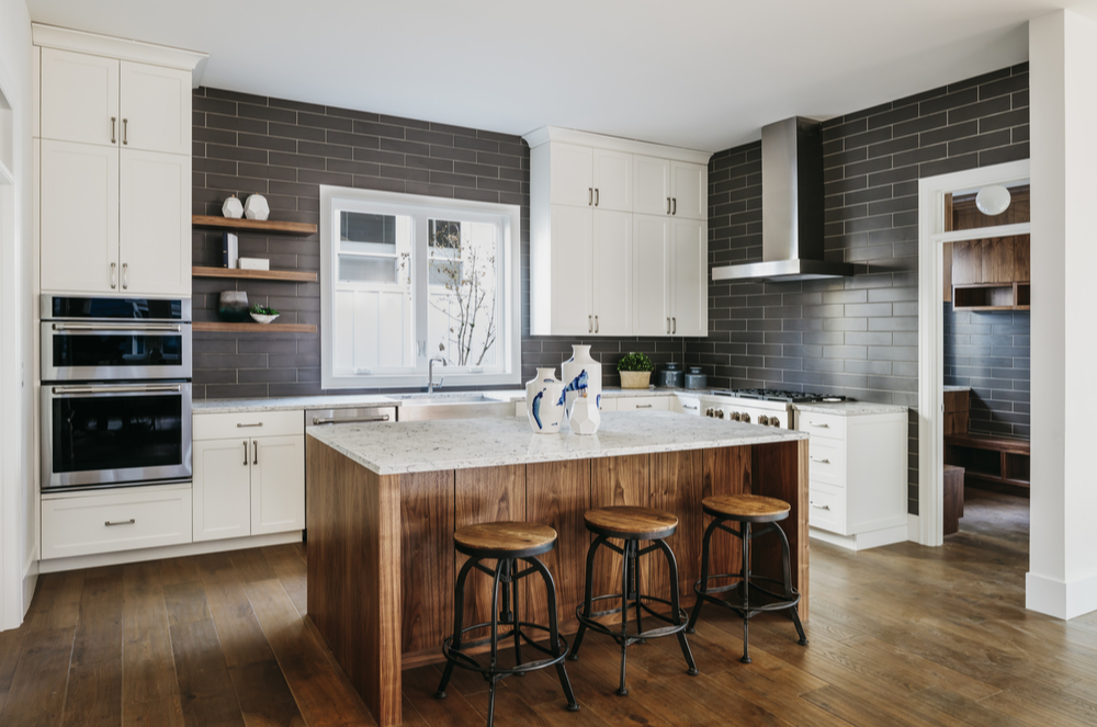 inside a renovated Westboro kitchen